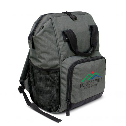 Custom branded promotional backpack Australia