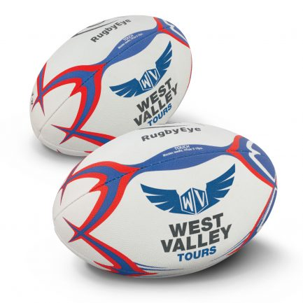 Custom Branded Touch Rugby Ball