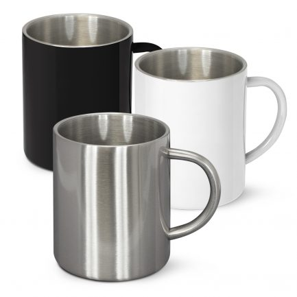 Custom Branded Stainless Steel Coffee Mug