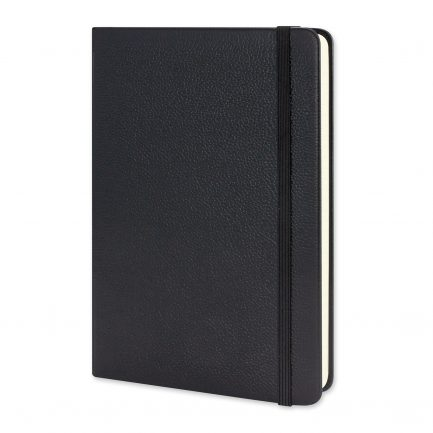 Custom Branded Moleskine® Classic Leather Hard Cover Notebook - Large