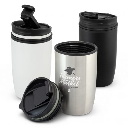 Custom branded 300ml double wall coffee cup